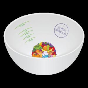 Portion Perfection Bowl - Porcelain